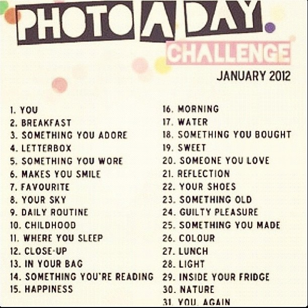 Photo A Day Challenges by Fat Mum Slim http://fatmumslim ...